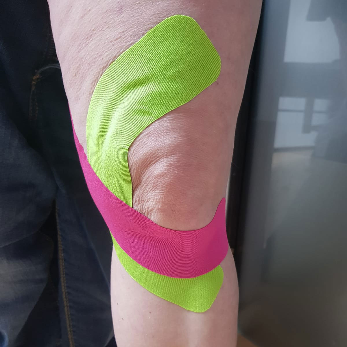 Kinesio-taping im House of Art Plettenberg