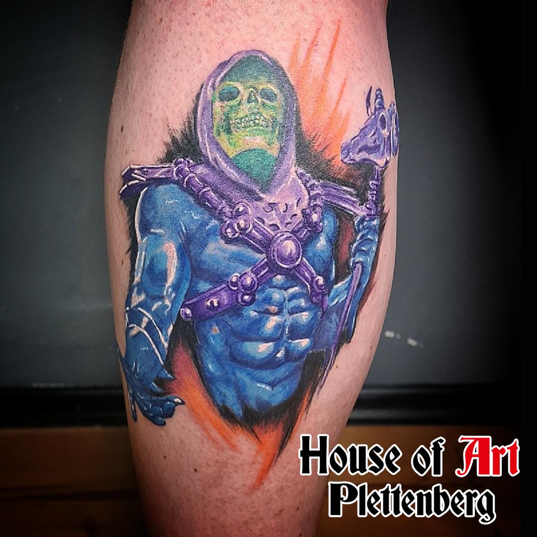 Tattoos im House of Art Plettenberg