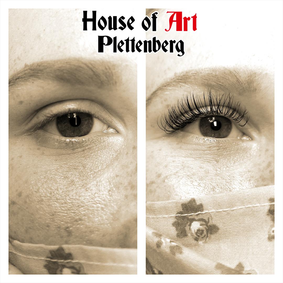 Wimpernverlängerung im House of Art Plettenberg