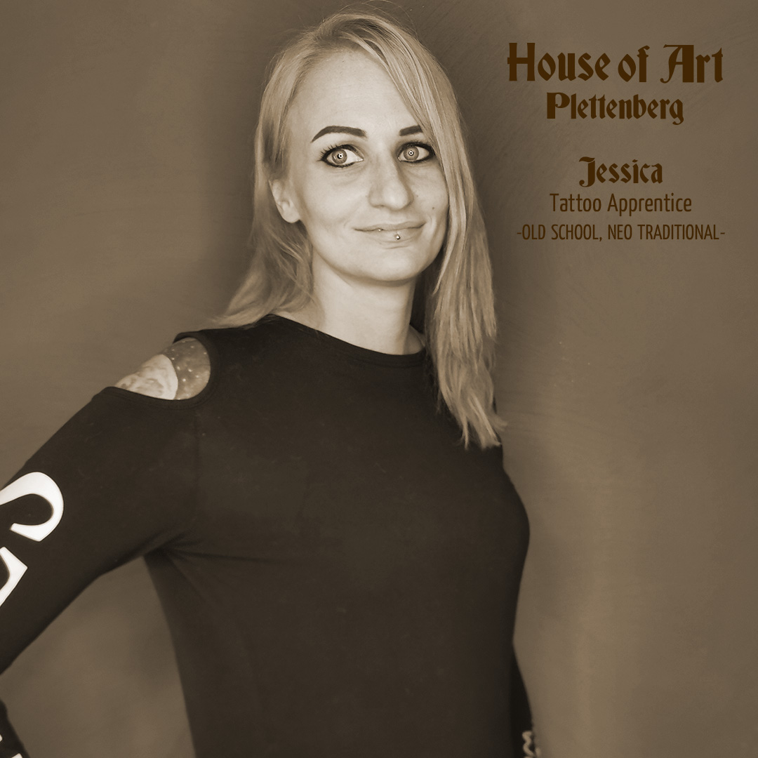 Jessica Erpenbach - Tattooartistin im House of Art Plettenberg