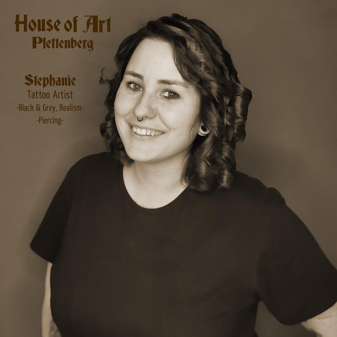 Stephanie Seegert - Bodypiercerin und Tattooartistin im House of Art Plettenberg