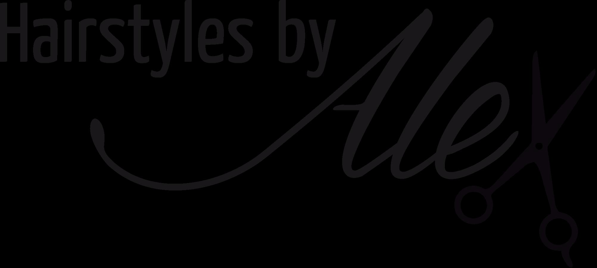 Hairstyles-by-Alex-Logo im House of Art Plettenberg